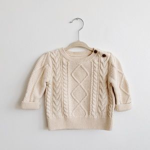 Baby Gap Cable Knit Sweater, size 6-12 mths